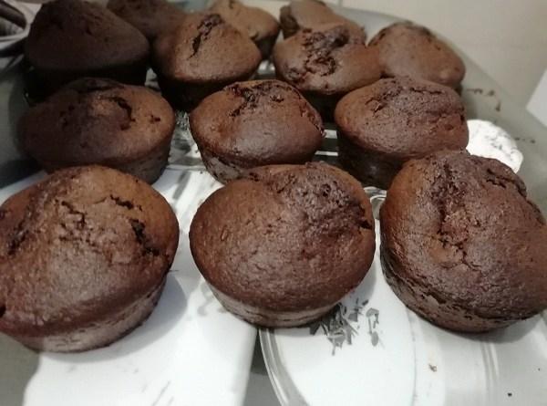 Pumpkin Muffins ( Gluten-Free, Dairy-Free, Chocolate Snack)