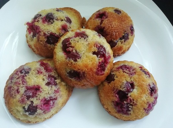 Raspberry Muffins with Honey, Gluten-Free, Clean Eating Recipe