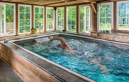 endless pool installation