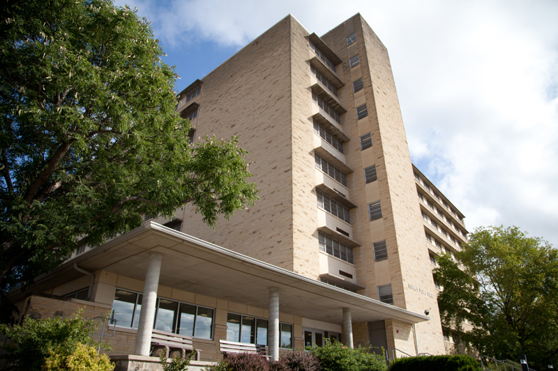 Ford Hall  Derby Complex  Residence Halls  Housing and