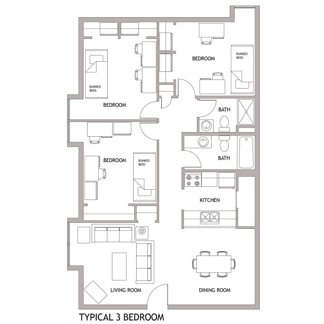 House Plans Big Kitchens