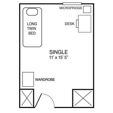 dundee-single-floor-plan | Housing Services
