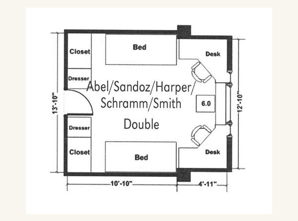 Room Ideas Dorm Floor Plan