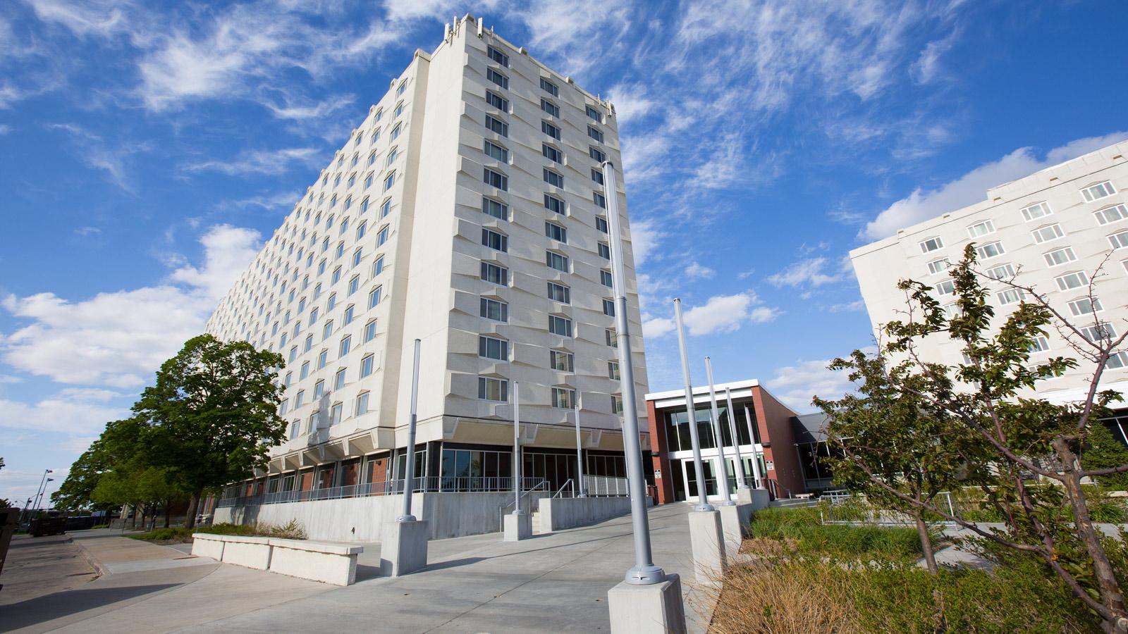 Abel Hall  University Housing  Nebraska
