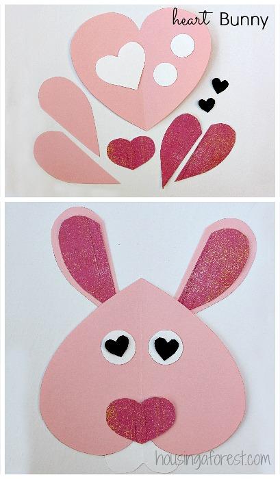 Heart Shaped Crafts : heart, shaped, crafts, Heart, Shaped, Animals, Housing, Forest