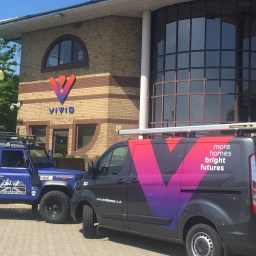 VIVID's office in Hampshire.
