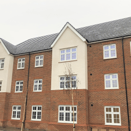 The new Hawthorns housing estate in Whinmoor, Leeds.