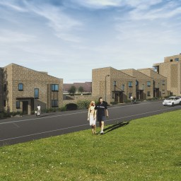 A CGI of the Sterling Project in Plymouth.