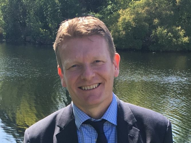 Graeme Foster, chief executive of Alpha Living.