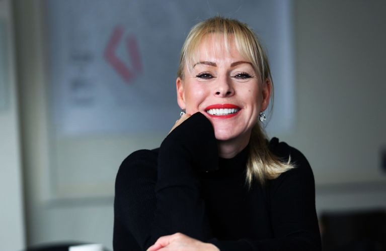 Jill Haley, the outgoing chief executive of Byker Community Trust.