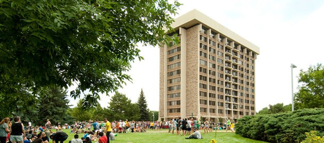 ultimate ranking of the dorms at Colorado State