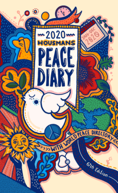 Peace Diary 2020 front cover