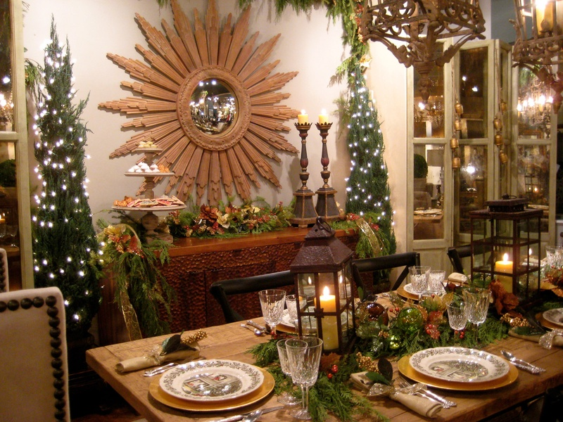 Holiday Table Decorations