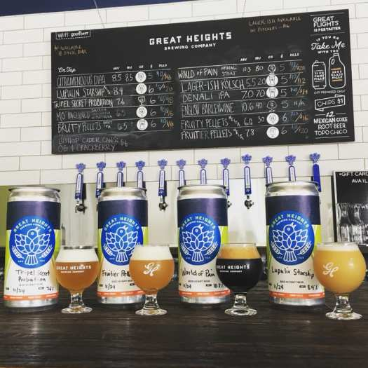 Great Heights Anniversary Beers