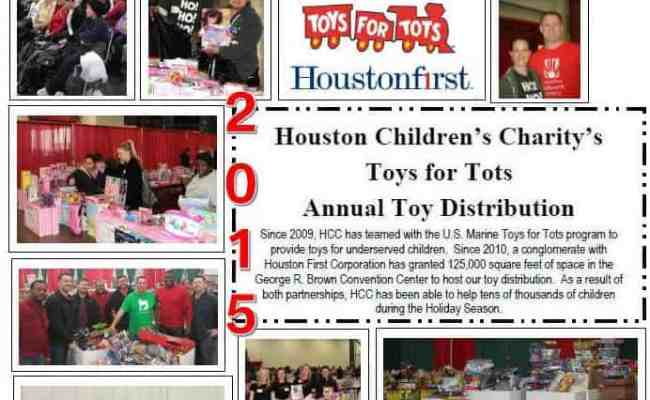 Toys For Tots Houston Children S Charity
