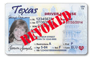 Suspended Texas Driver License - DWI Case