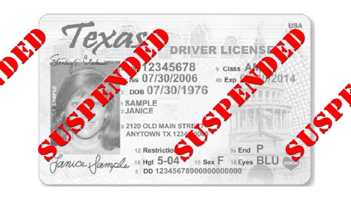 Houston Suspended License Lawyer • DWLI/DWLS Defense