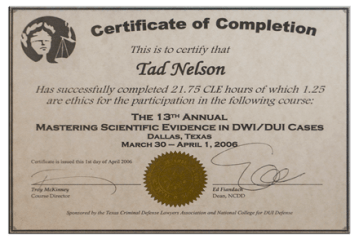 19 - Mastering Scientific Evidence in DUI Cases
