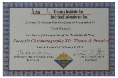 Forensic Chromatography