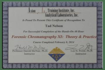 3 - Forensic Chromatography