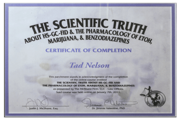 Tad Credentials 11 The Scientific Truth
