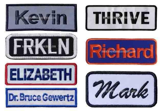 name-tapes