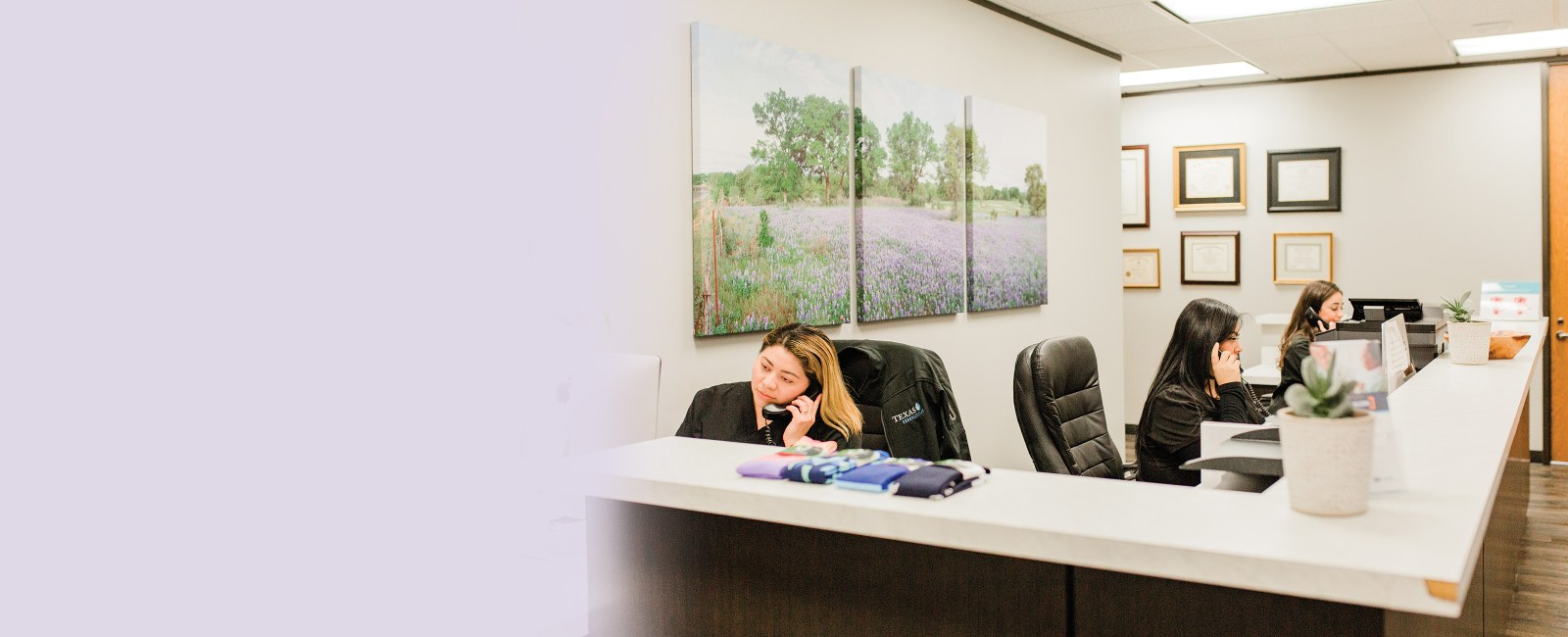 Houston Fibroids front desk staff