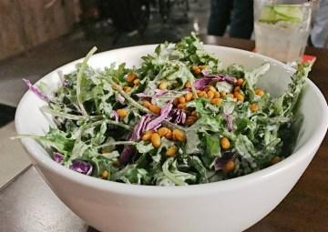 Baby Kale Salad at Bosscat