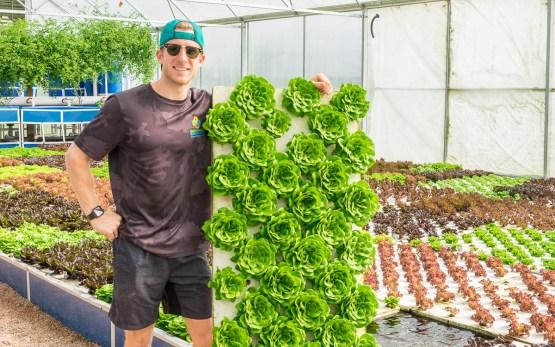 Matthew Braud of Sustainable Harvesters