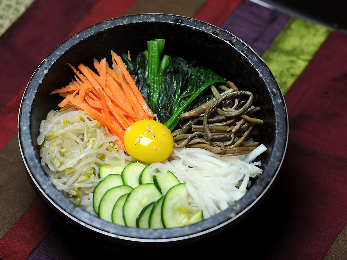 bibimbap at Hankook Kwan