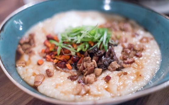 congee at Night Heron›