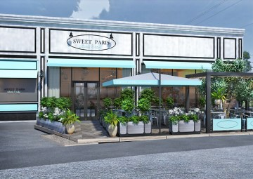 Sweet Paris Highland Village rendering