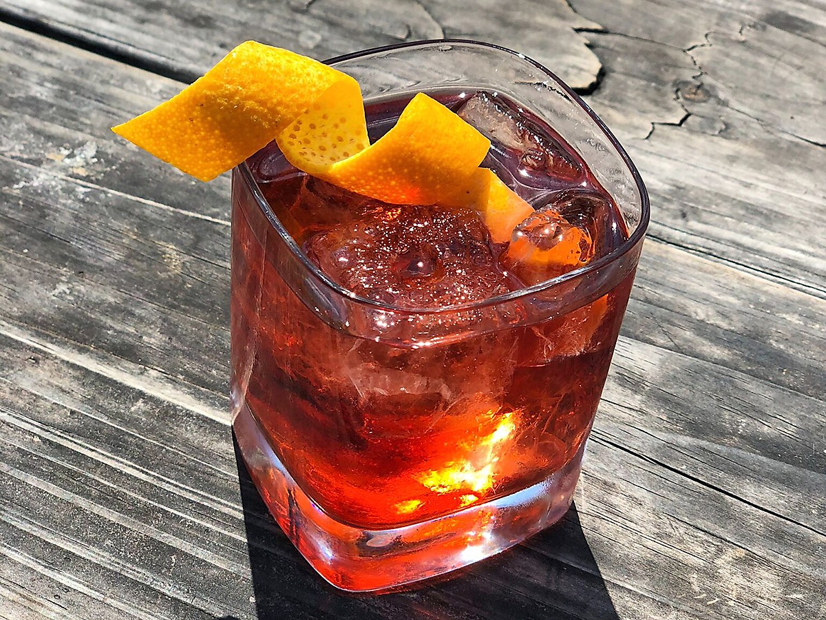 Negroni at The Hay Merchant