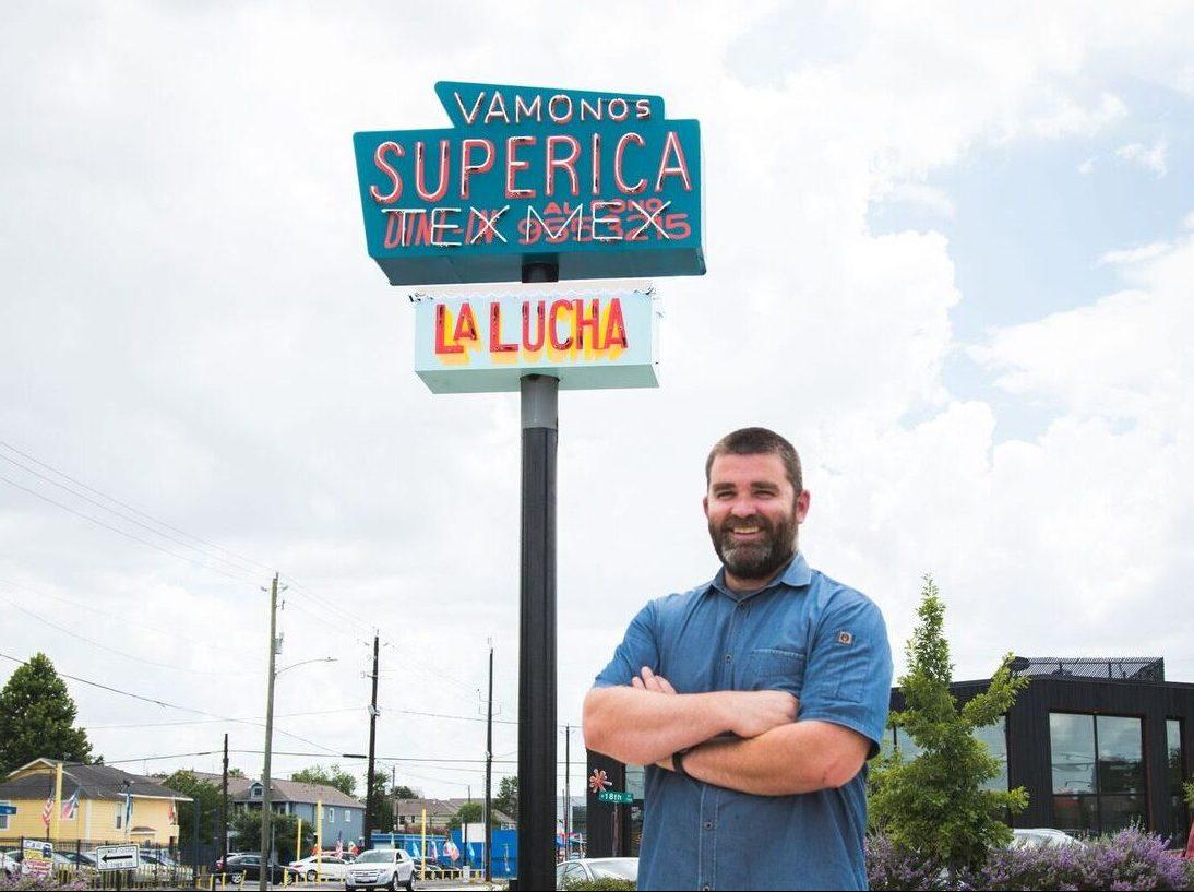 Bobby Matos at Superica
