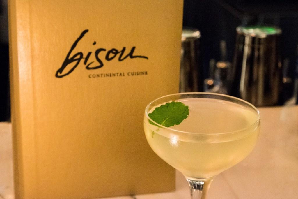 Havana Nights cocktail at Bisou