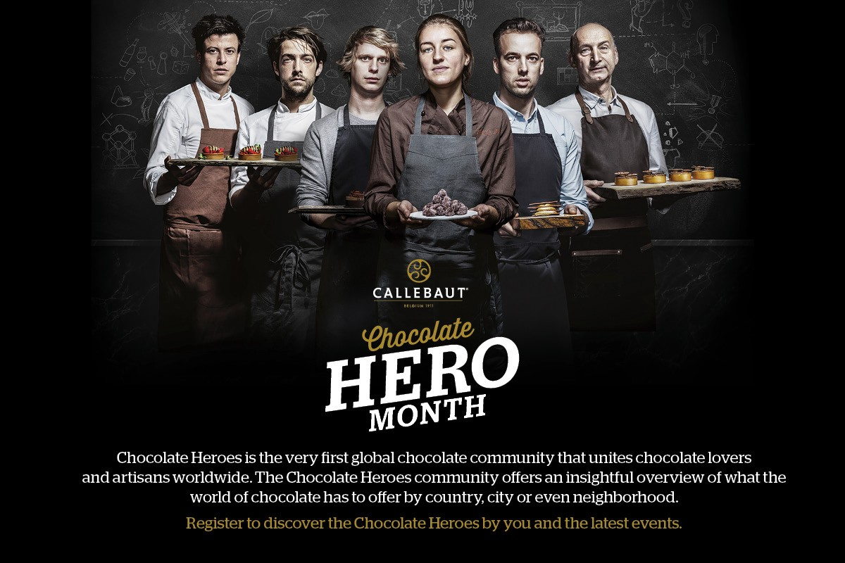 Callebaut Chocolate Hero Month