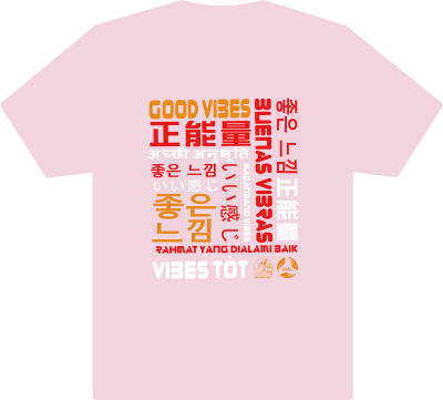 Good Vibes T-shirt at Phat Eatery