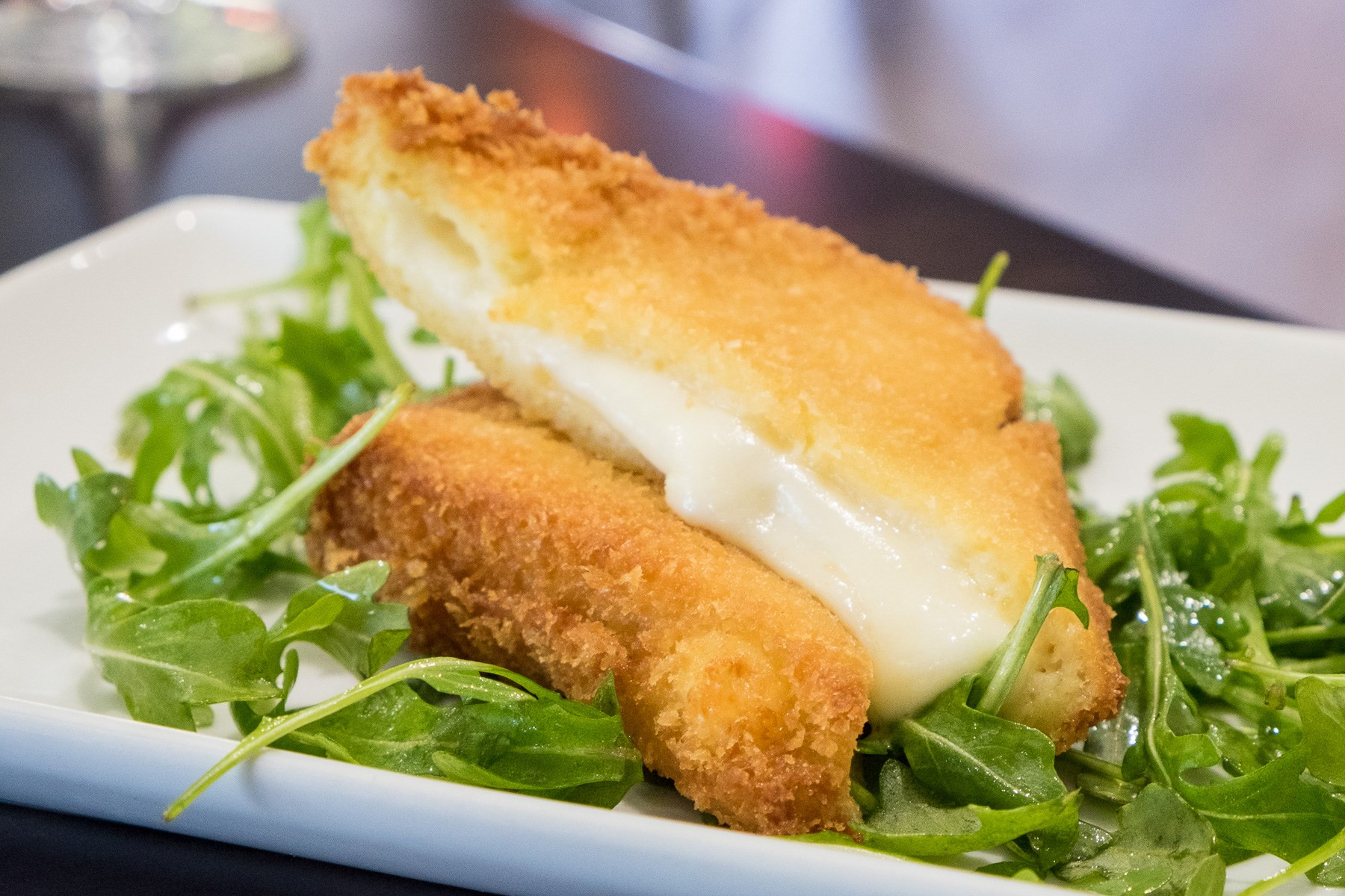 Mozzarella in Carrozza at ROMA