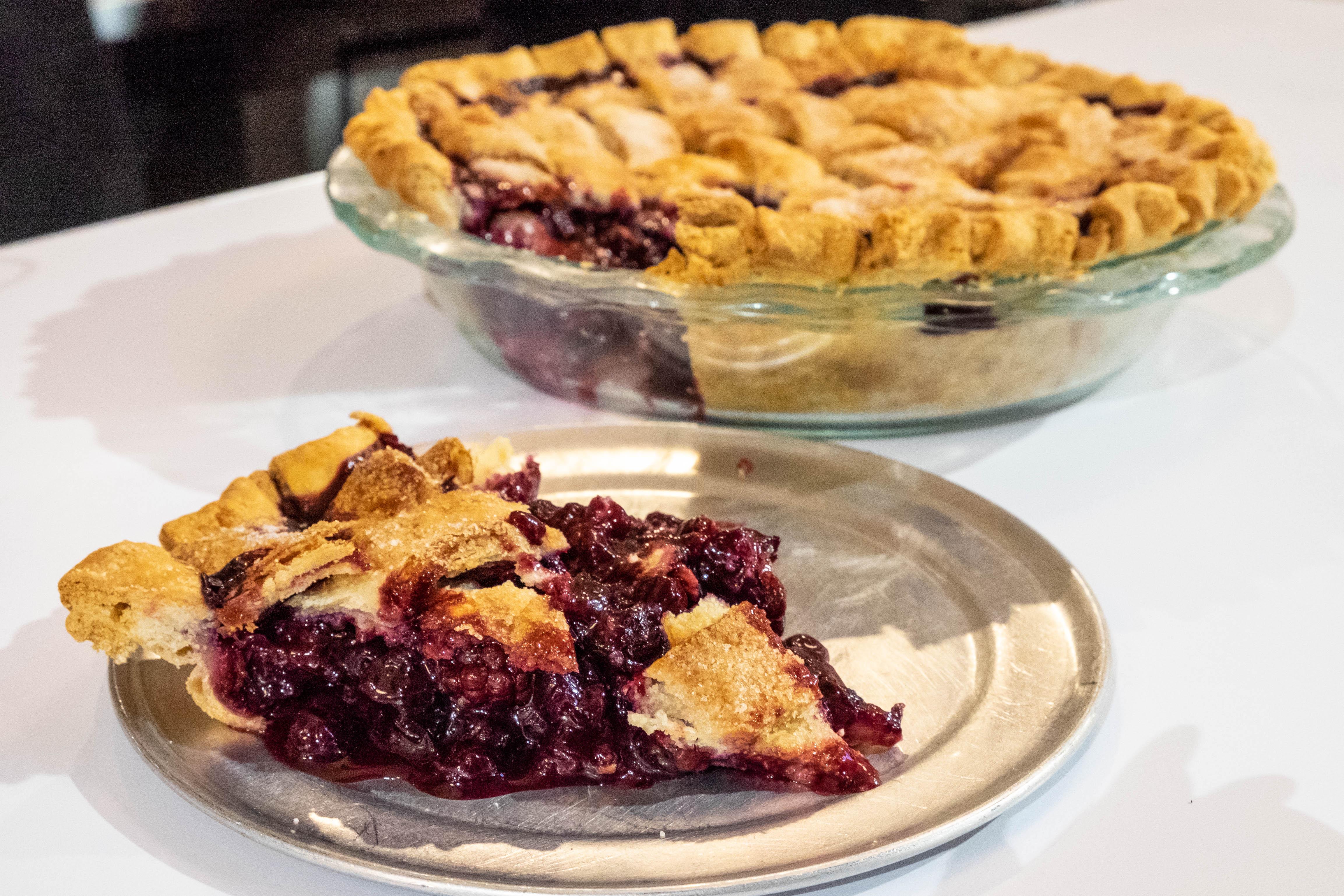 blackberry pie at Atlas Dineråç