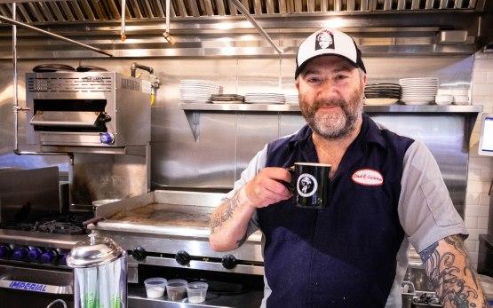 Richard Knight of Atlas Diner