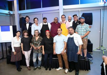 chefs of The Perfect 10 Gala