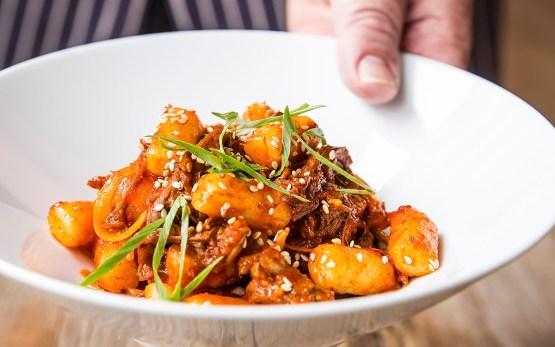 Chef Chris Shepherd's Korean Braised Goat & Dumplings
