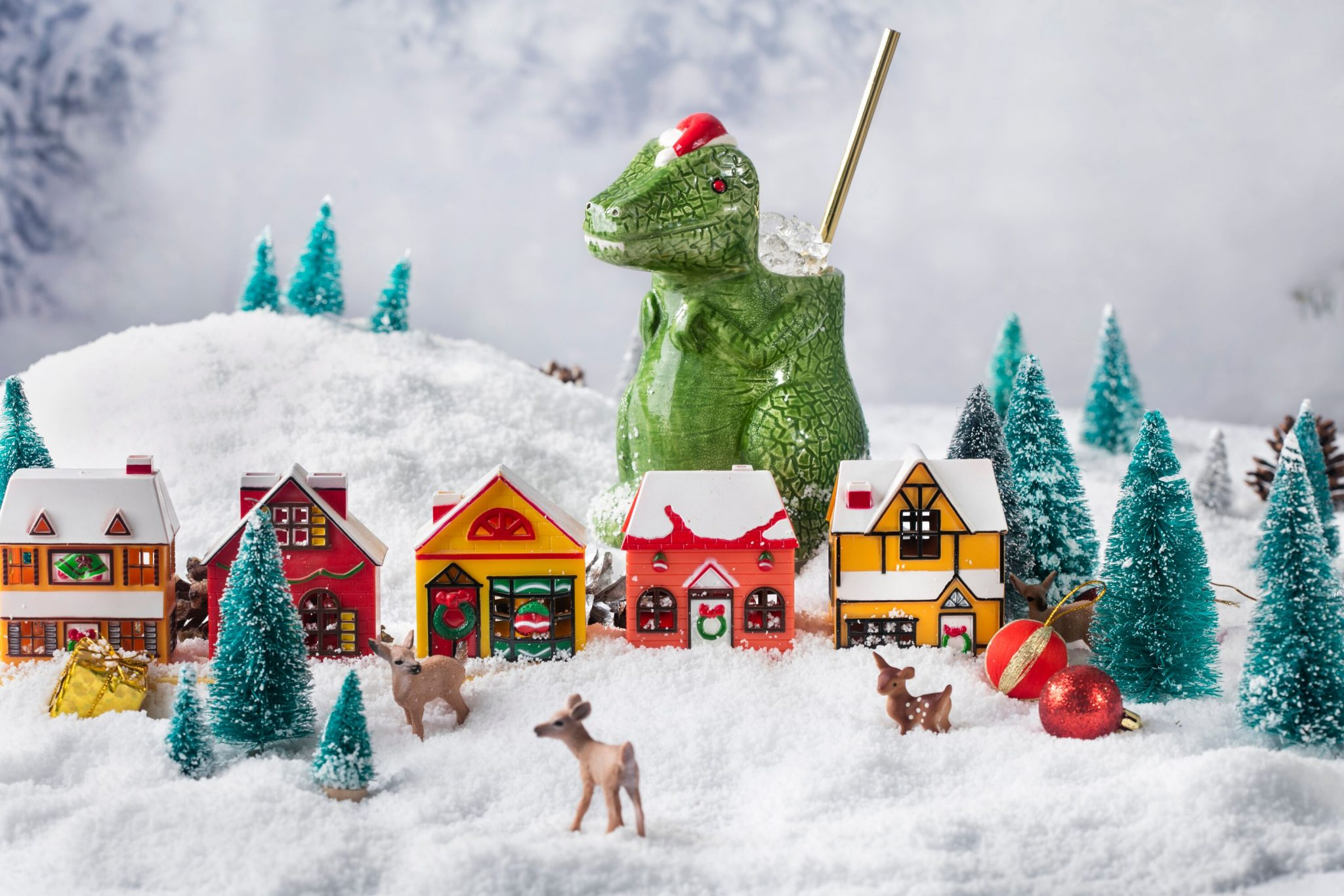 miracle pop-up christmas town photo