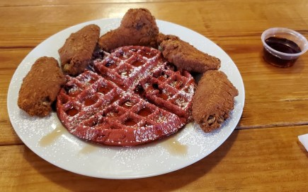 Imperfect Red Velvet Waffle