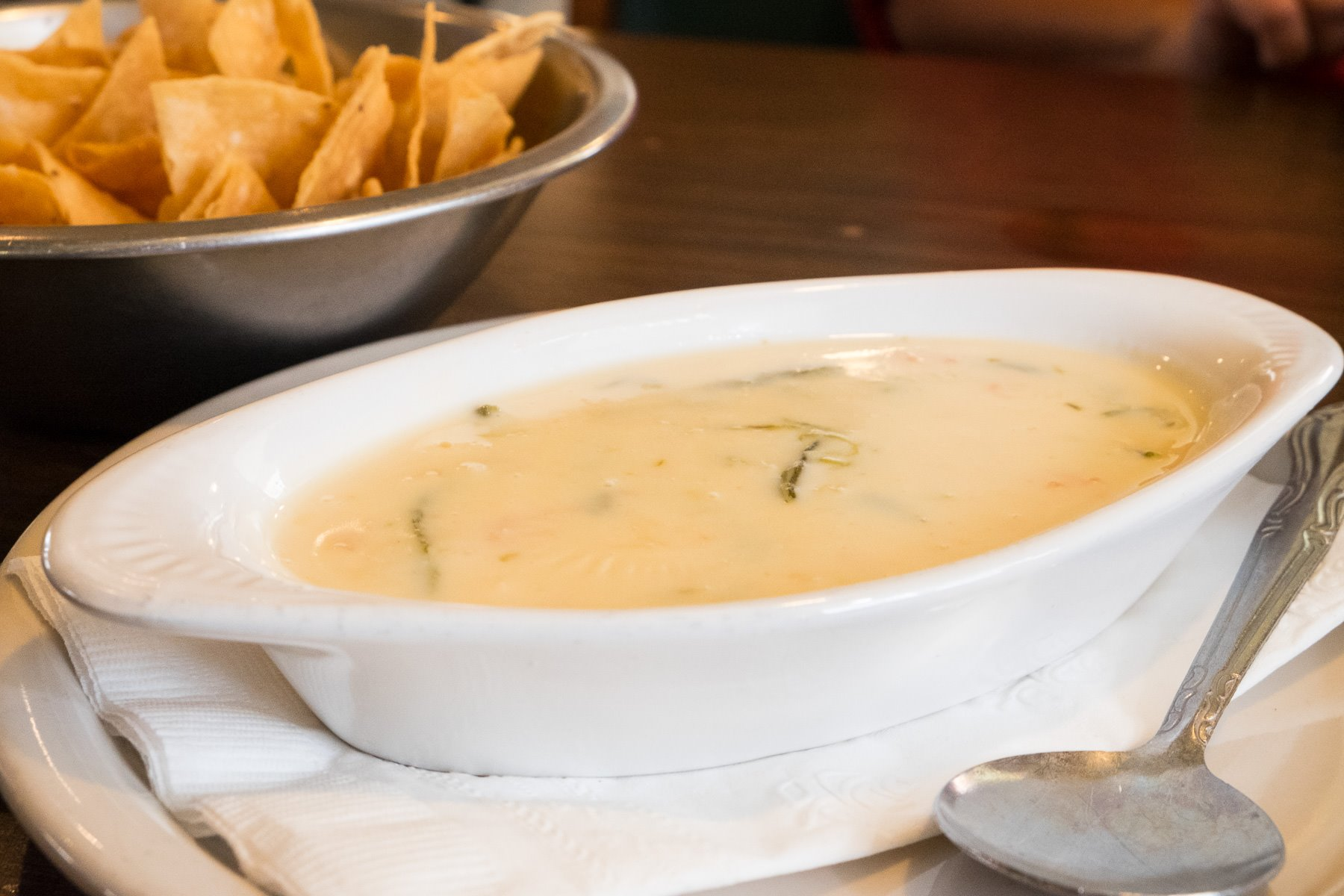 Queso at Habanera & The Guero