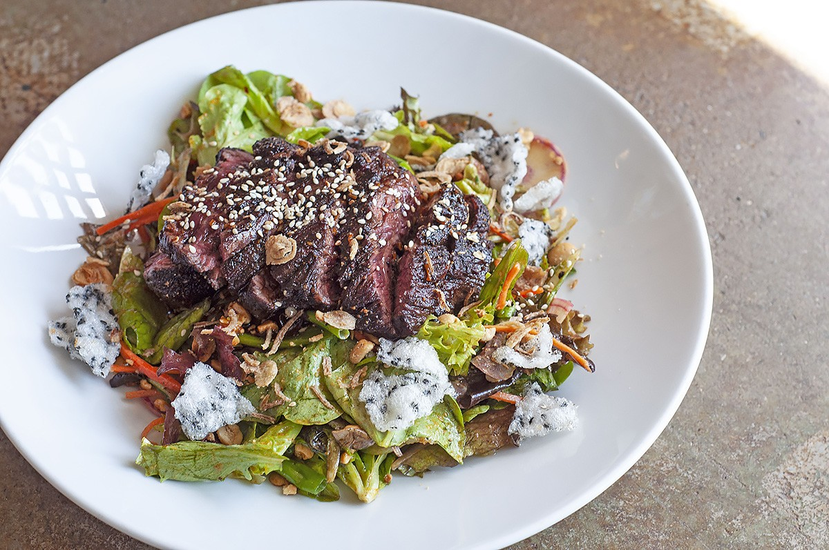 Georgia James steak salad