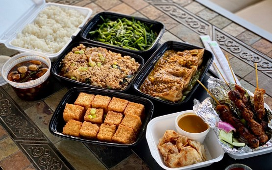 Phat Eatery take-out feast