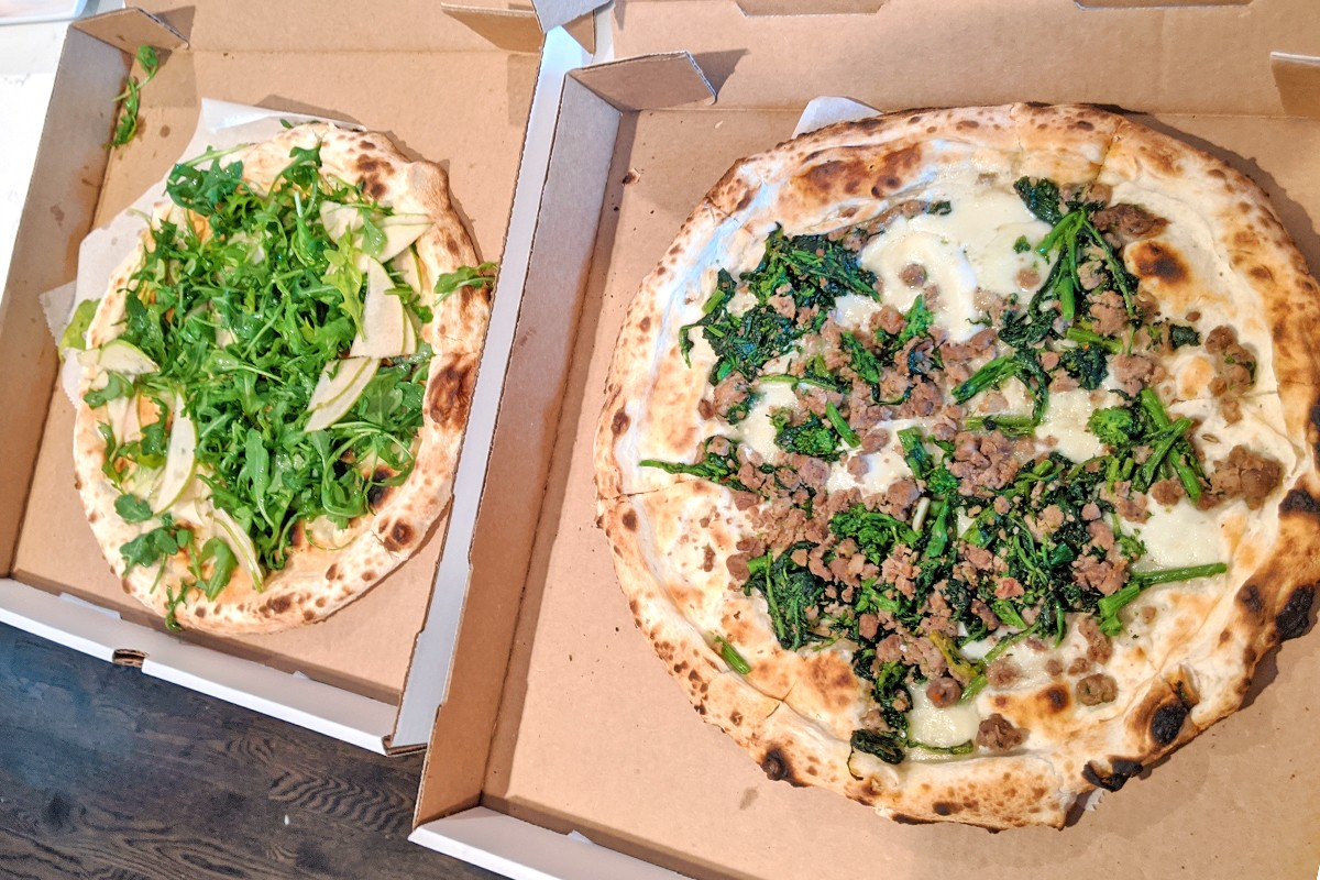 Dolce Vita pizzas