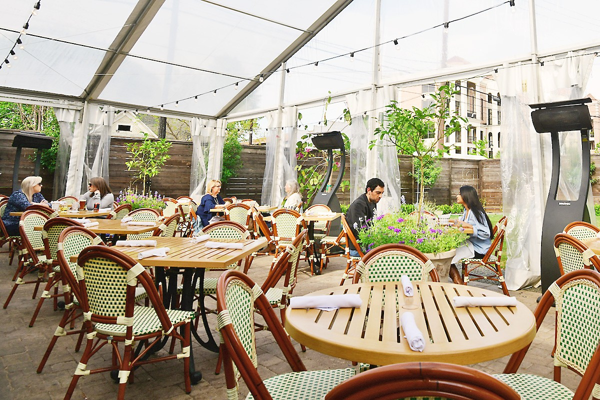 the best restaurant patios in houston