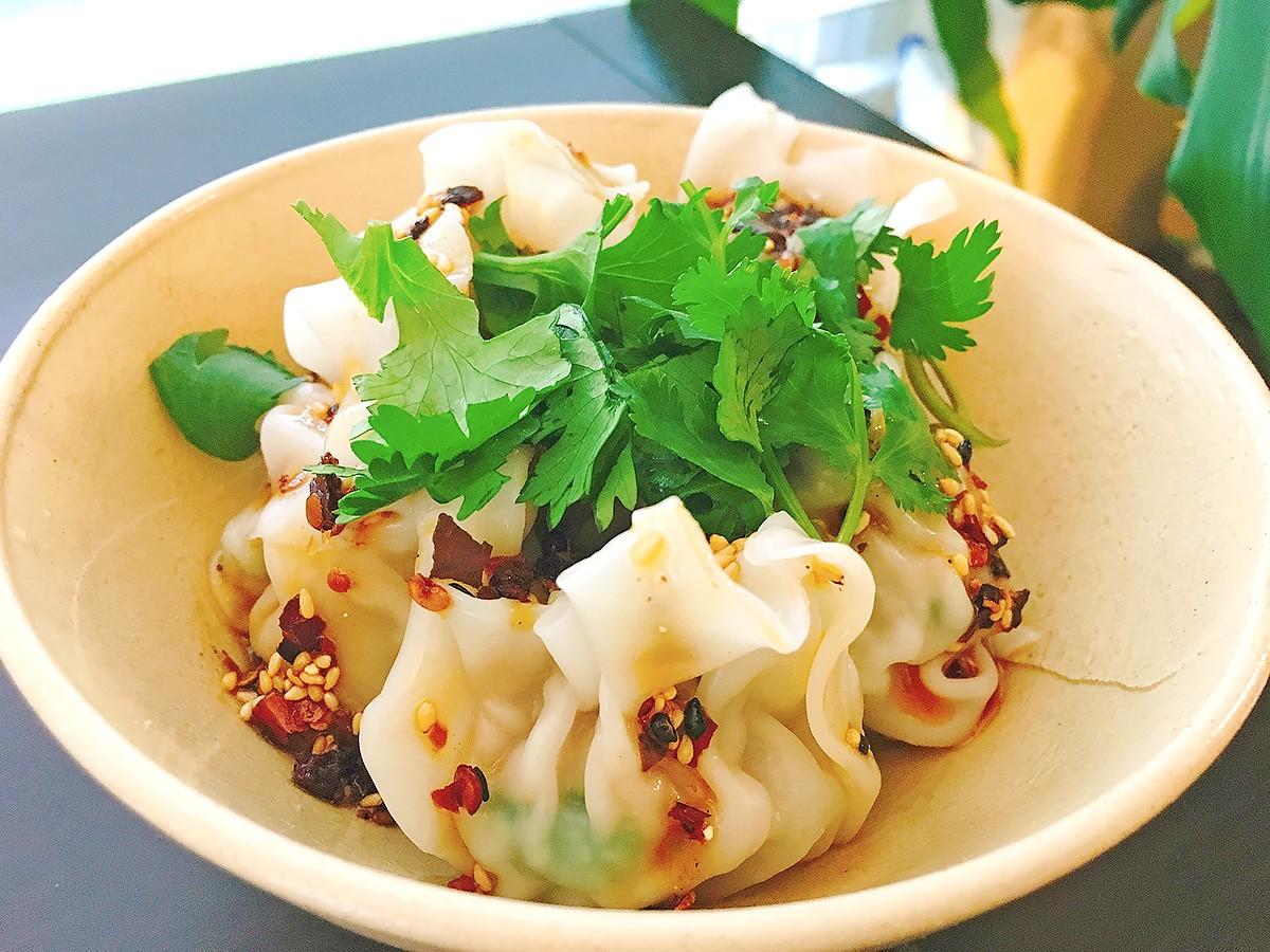 Tiger Saté on dumplings